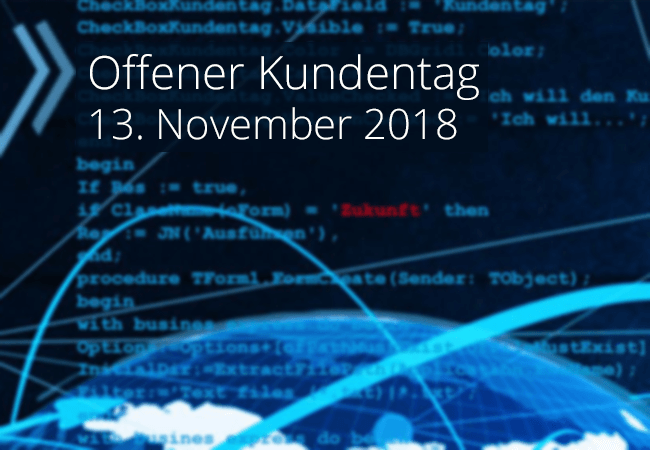 Key-Visual Dontenwill Kundentag 2018